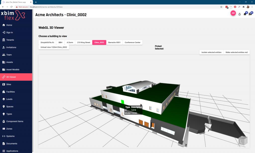 Flex platform webkit